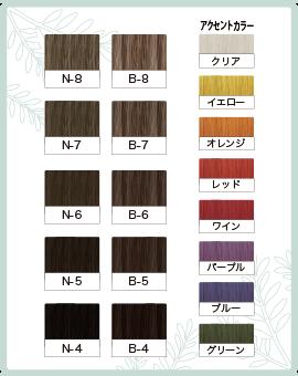 チャート香草カラー